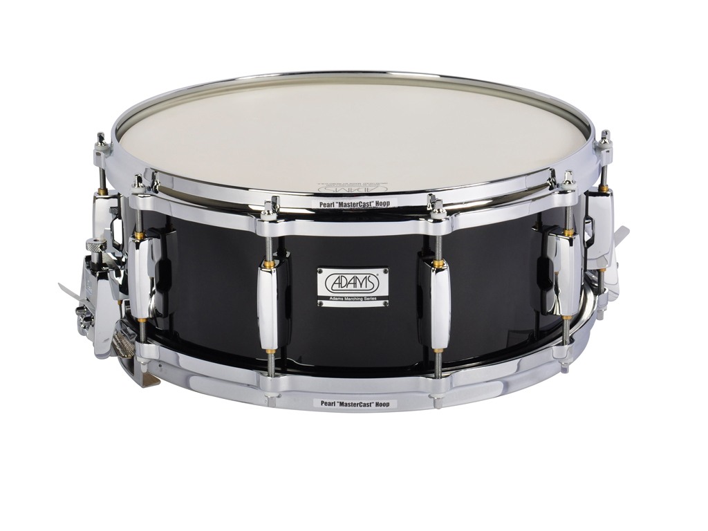 "Snaredrum Adams 1455WBP, 14""x5˝"", Wood, Black Parade Line"