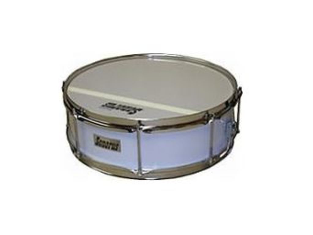 "Snare Drum Sonorus ST1304, 13"" x 4"", white single spanning"