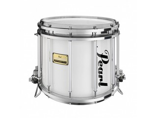 "Snaredrum Pearl FFXPMD1412, 14"" x 12"", Pipeband dubbele snaar, #109 Arctic White"