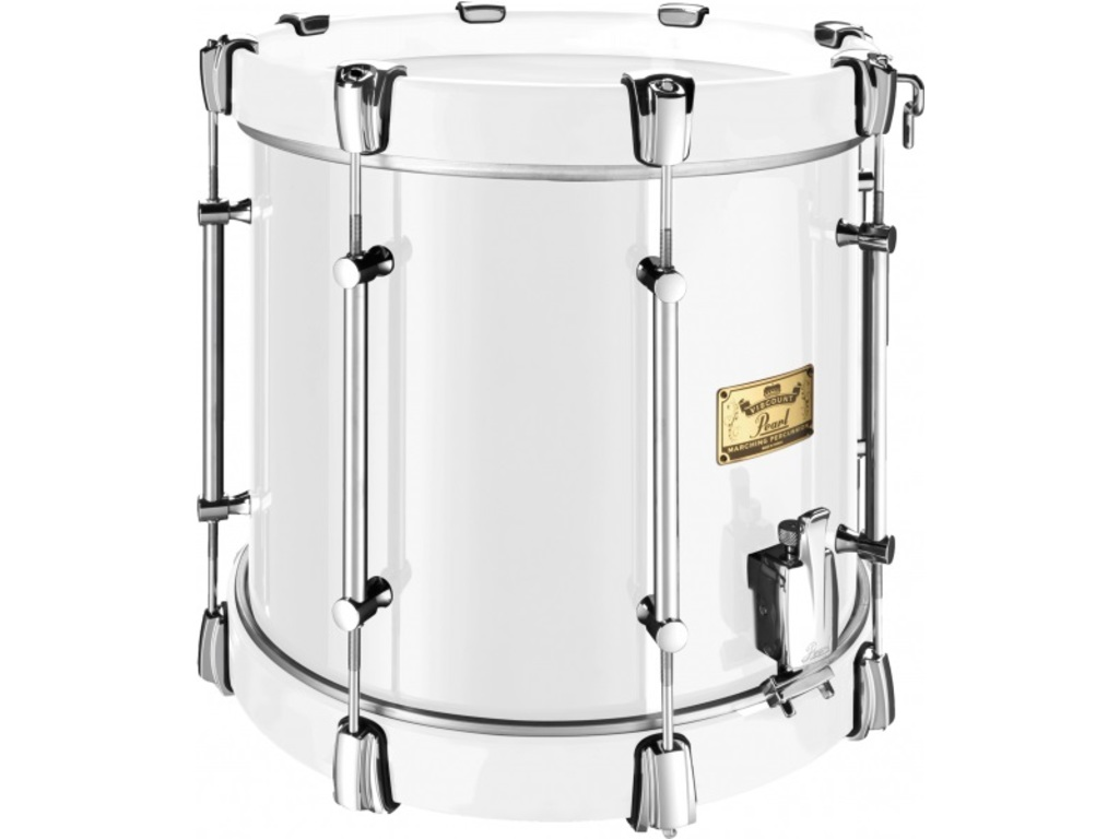 "Snaredrum Pearl VCS1412/TS, 14""x 12"", Viscount Military Series, #33 Wit"