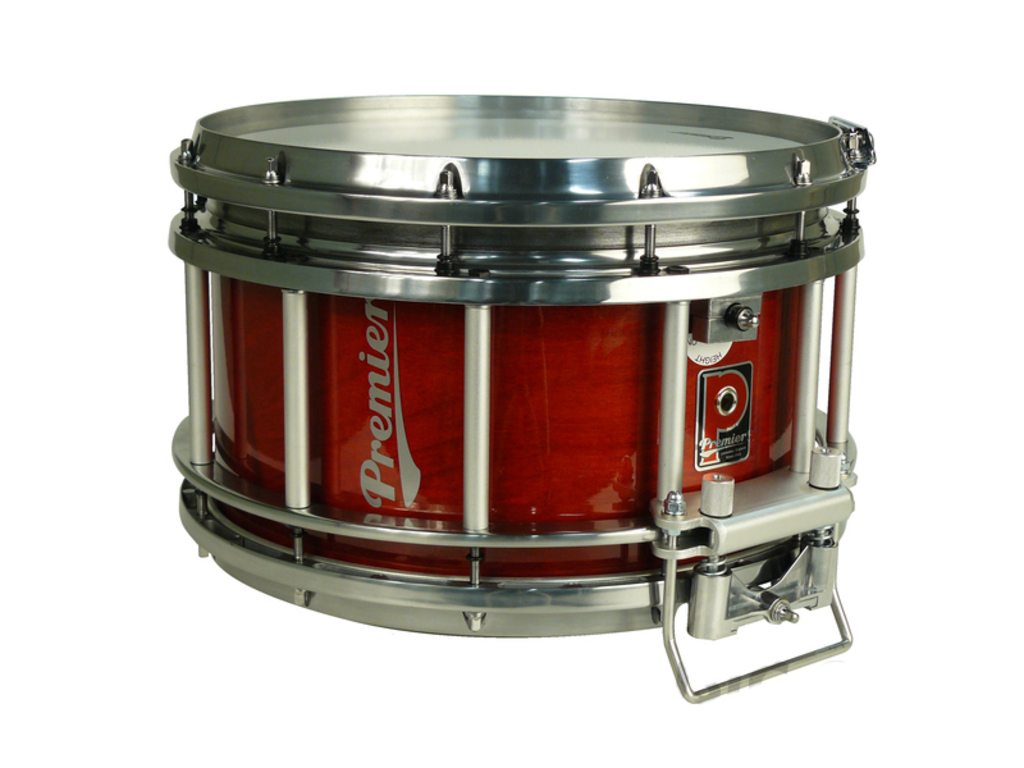 "Snaredrum Premier HTS-400, 14"" x 7"", rood"