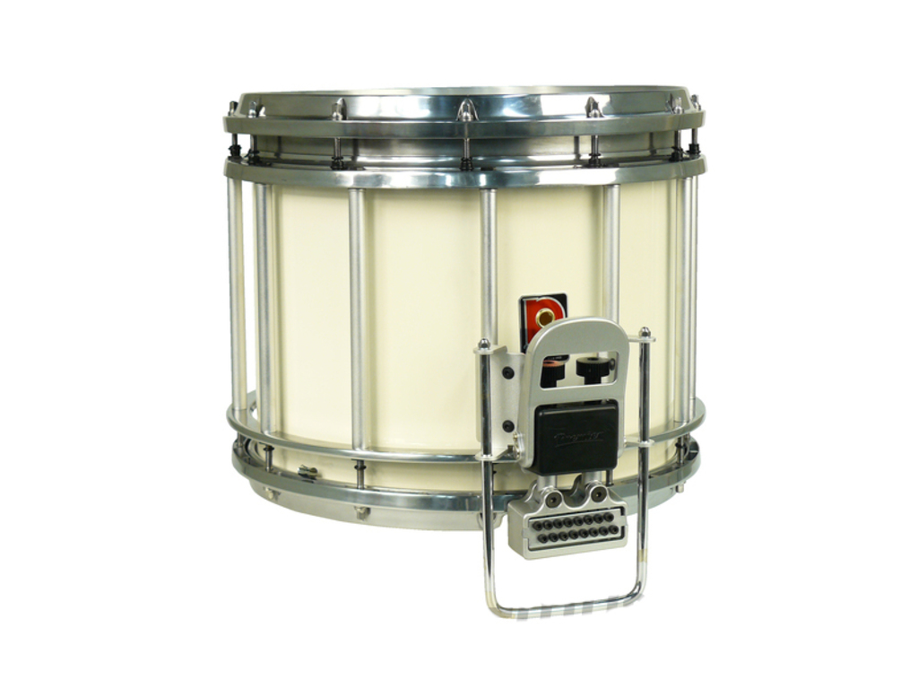 "Snaredrum Premier HTS 784, 14"" x 12"", bottom throw-off gut snares, wit, incl. carryhook 700/08"