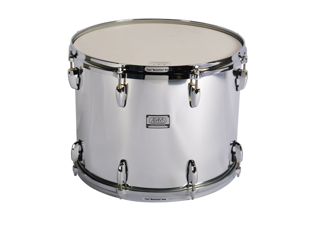 "Tenor Drum Adams 1612WCP, 16""x12"", Wood, Chroom Parade Line"