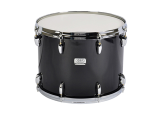 "Tenor Drum Adams 1612WBP, 16""x12"", Wood, Black Parade Line"