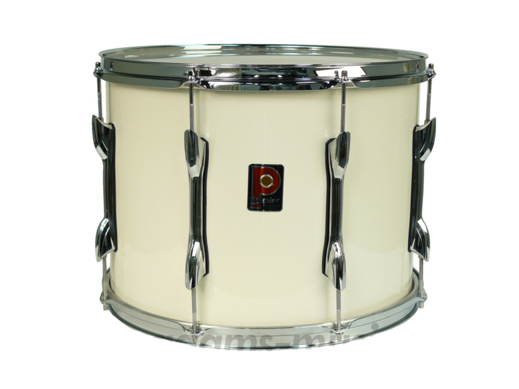 "Tenor Drum Premier 72, 16"" X 12"" Wood Shell Wit"
