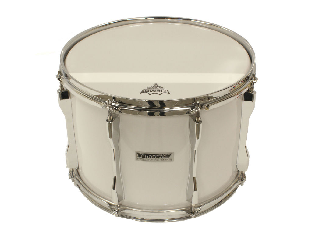 "Tenor Drum Vancore TMCE1410X, 14"" x 10"", white, chrome hardware"