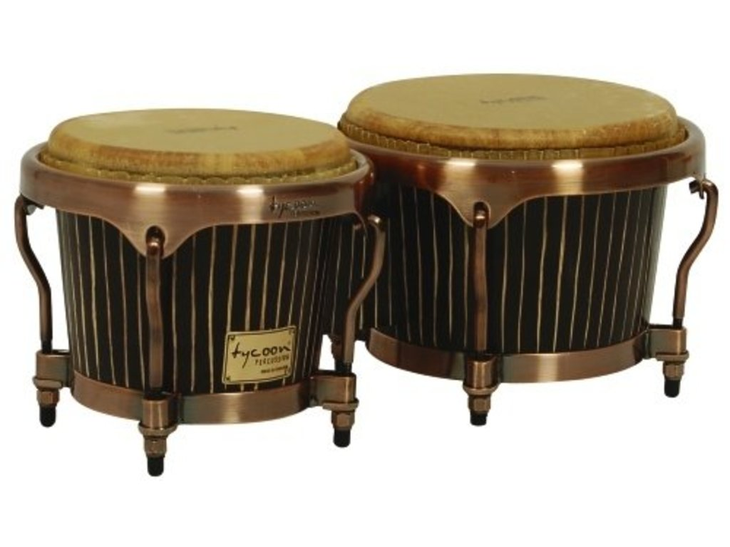 Bongo Tycoon, Master original series Handcrafted, TY807801, Pinstripe with antique copper hardware