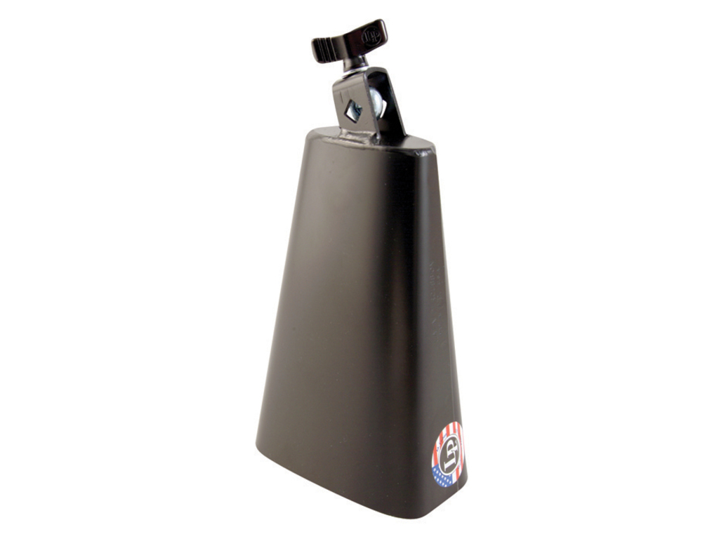 "Cowbell LP007N, Rock Cowbell, 8"", Low Pitch, Zwart, Monteerbaar"
