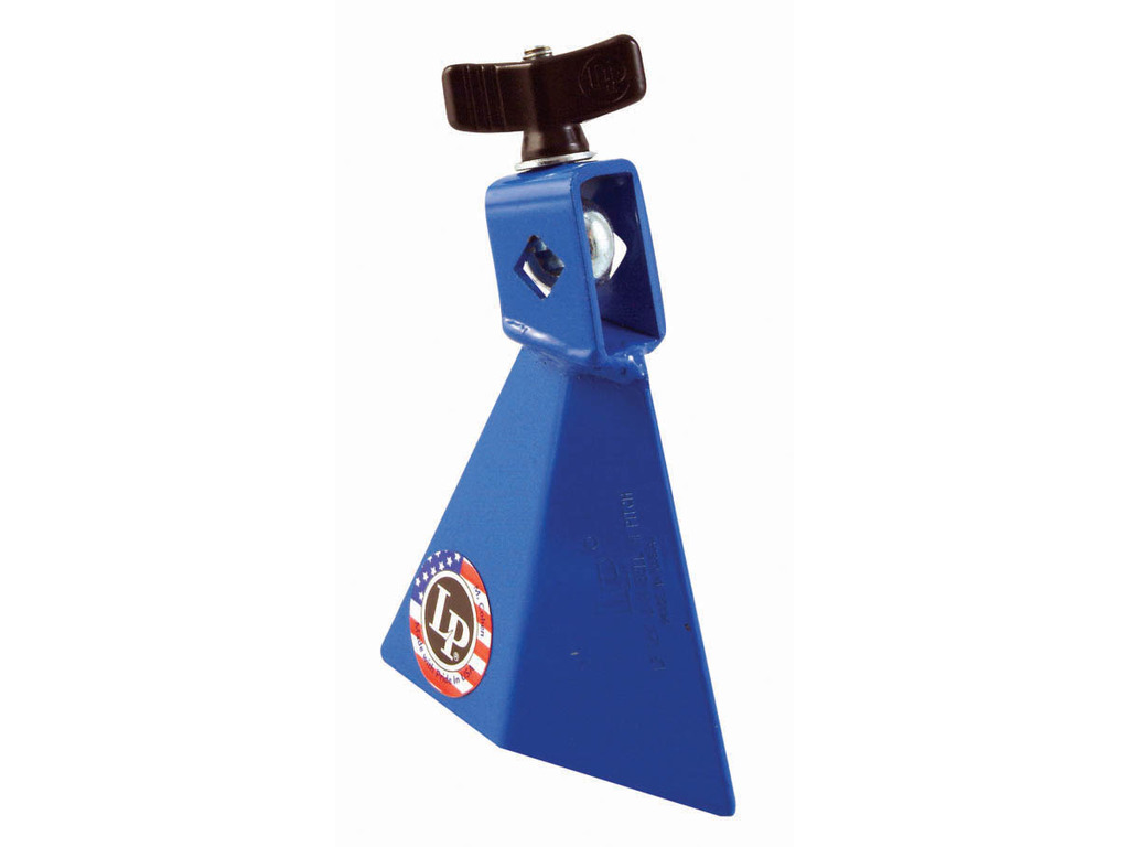 "Cowbell LP1231, LP Jam Bell, Blue High Pitch, 3 1/2"", Blauw, Monteerbaar"