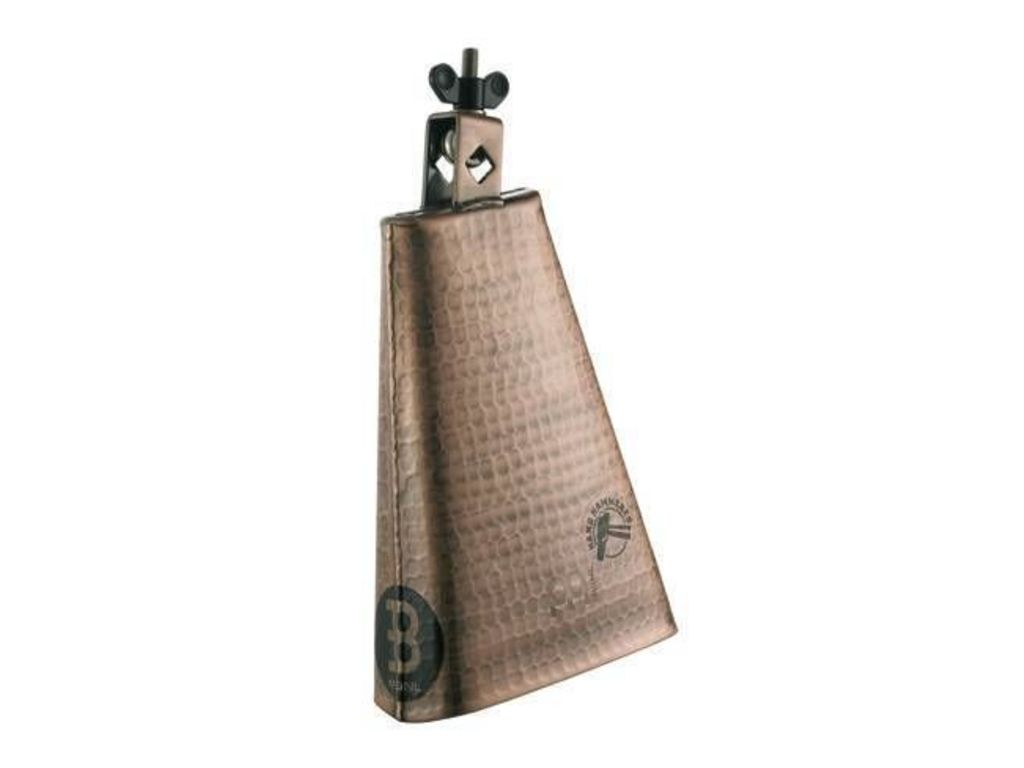 "Cowbell Meinl STB80BHH-C, Hammered, Big Mouth, 8"", Staal, Hand Brushed Koper, Monteerbaar"
