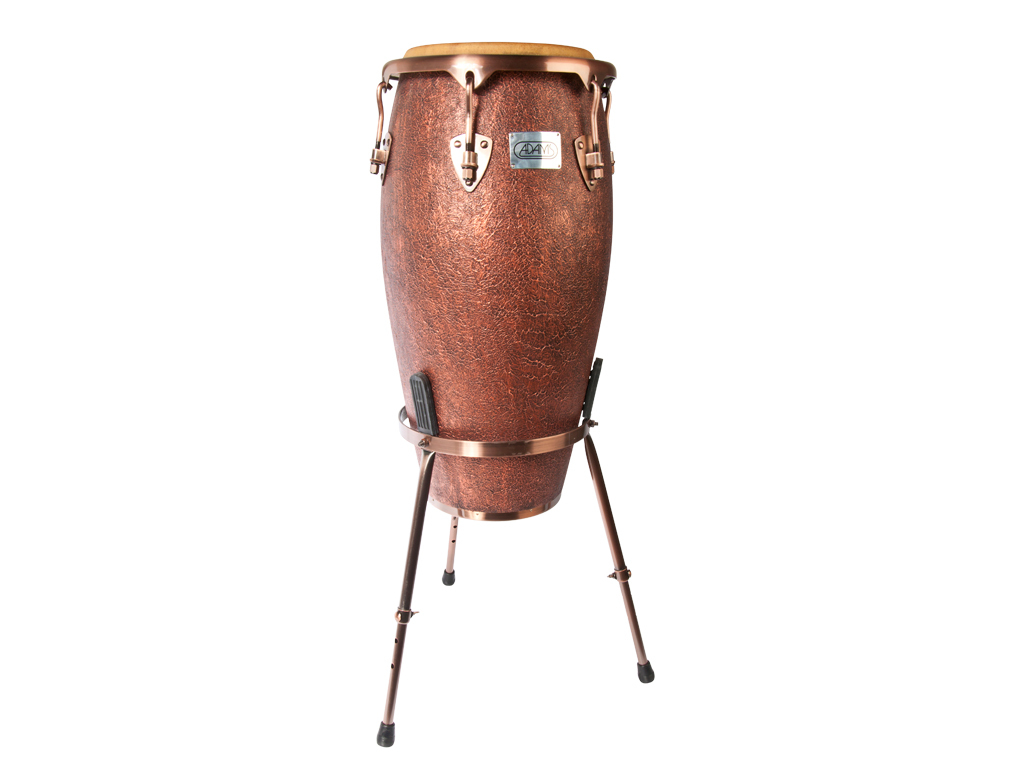 "Conga Adams MTCA-120 AC/S, Master Antique Series, Conga, 11 3/4"", with stand"