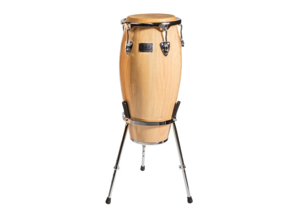 "Conga Adams MTC-110 C N/S, Master Classic Series, Quinto, 11"", Natural, with basket stand"