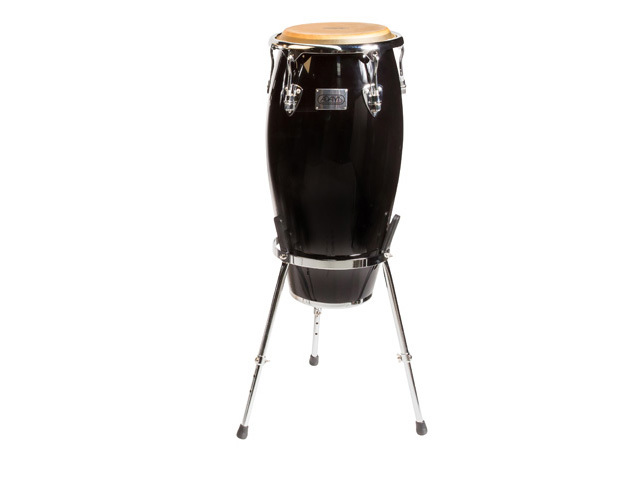 "Conga Adams MTC-110 C BK/S, Master Classic Series, Quinto, 11"", Black, Black, with basket stand"
