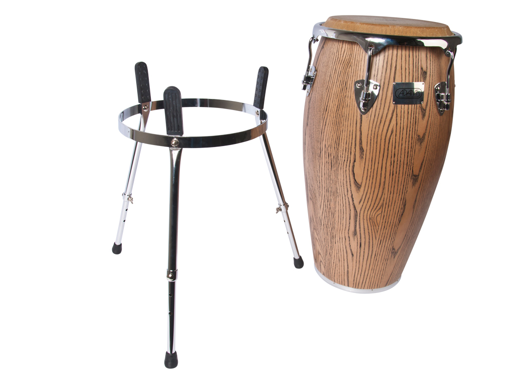 "Conga Adams MTCG-110 C N/S, Master Grand Series, Quinto, 11"", met basket stand"