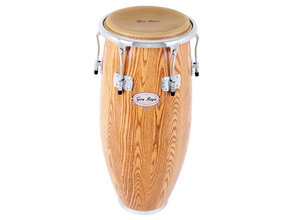 "Conga Gon Bops AA1075N, Alex Acuna Signature Serie, Quinto, 10 3/4"", North American Ash"