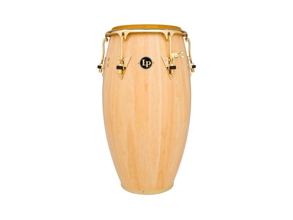 "Conga LP222X-AW, LP Salsa Model, 11"" Quinto, Natural Finish, Gold hardware"