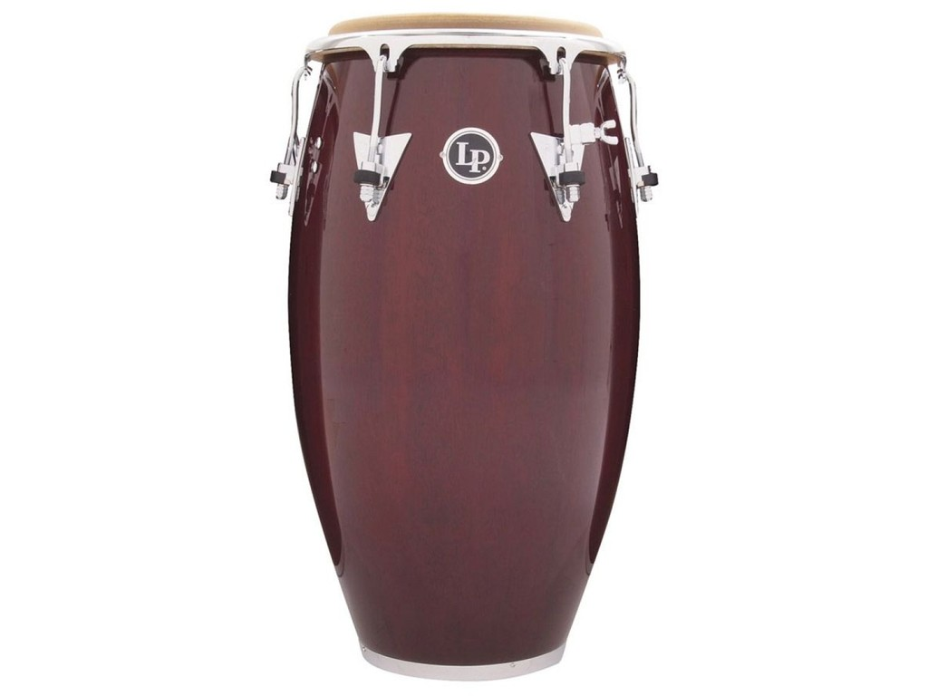 "Conga LP222X-DW, Salsa Model, 11"" Quinto, Wine Red Finish, Chrome"