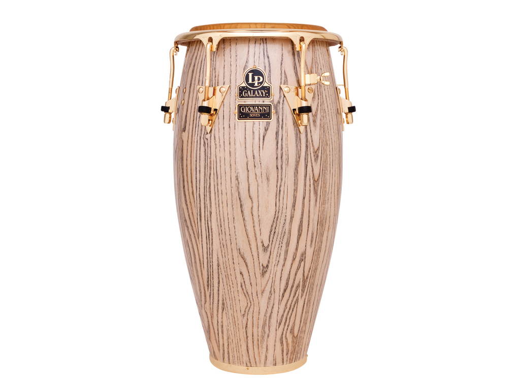 "Conga LP806ZAW, LP Galaxy Serie, Giovanni Wood, Conga, 11 3/4"", 3 Ply North American Ash, Comfort Curve, Gouden Hardware"