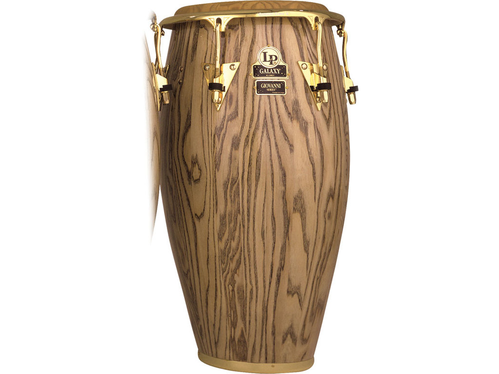 "Conga LP807ZAW, LP Galaxy Serie, Giovanni Wood, Tumbadora, 12 1/2"", 3 Ply North American Ash, Comfort Curve, Gouden Hardware"