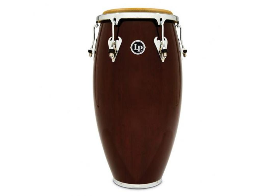 "Conga LP M752S-W, LP Matador Serie, Wood Conga, 11 3/4"", 3-ply Siam Eiken, Chroom Hardware, Donkerbruin"