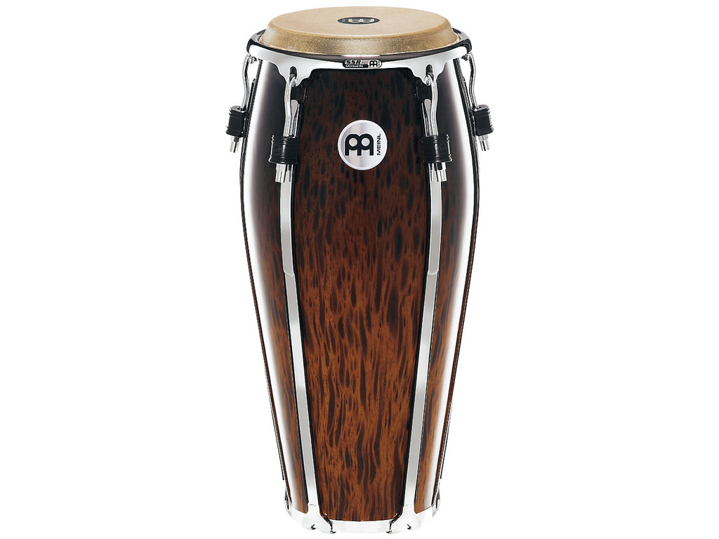 "Conga Meinl FL10BB, Floatune Serie, Nino, 10"", Two Ply Siam Eiken, Brown Burl"