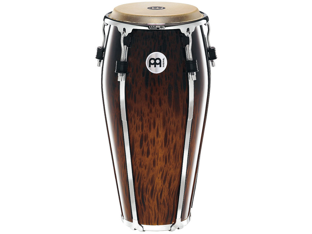 "Conga Meinl FL11BB, Floatune Serie, Quinto, 11"", Two Ply Siam Eiken, Brown Burl"