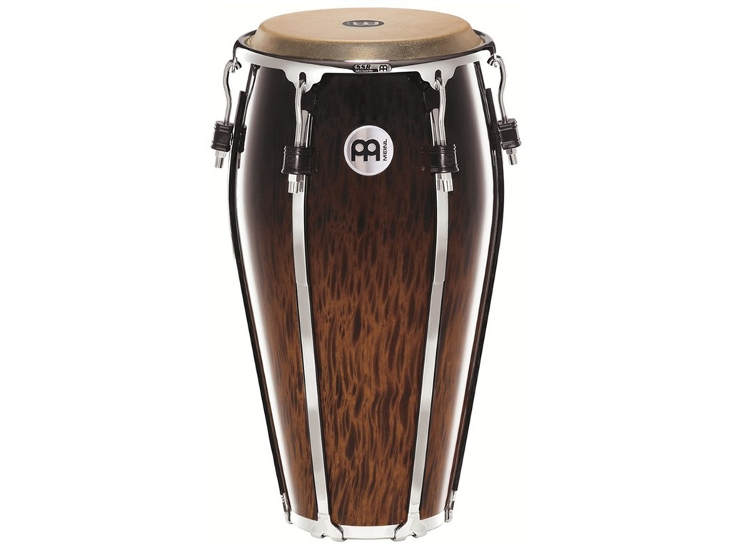 "Conga Meinl FL12BB, Floatune Serie, Conga, 12"", Two Ply Siam Eiken, Brown Burl"