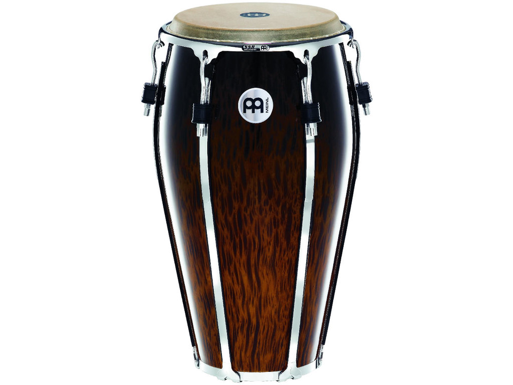 "Conga Meinl FL13BB, Floatune Serie, Tubma, 13"", Two Ply Siam Eiken, Brown Burl"