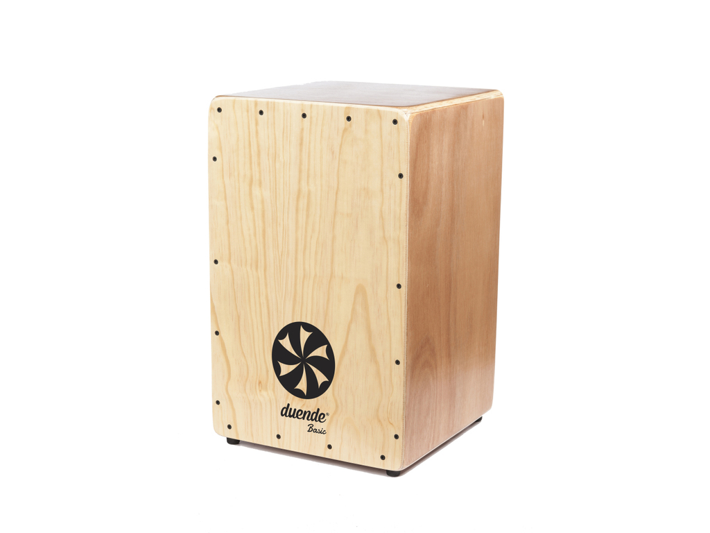 Cajon Duende Percussion BASIC, Dennen Hout, 1 snaar in V-vorm met ST-1 systeem