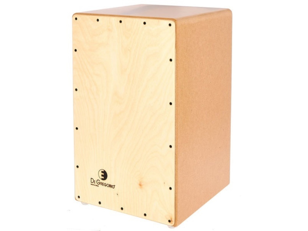 Cajon De Gregorio DGC15, Compass, Birch Frontplate and Body, 4 strings, 49 x 29 x 30cm