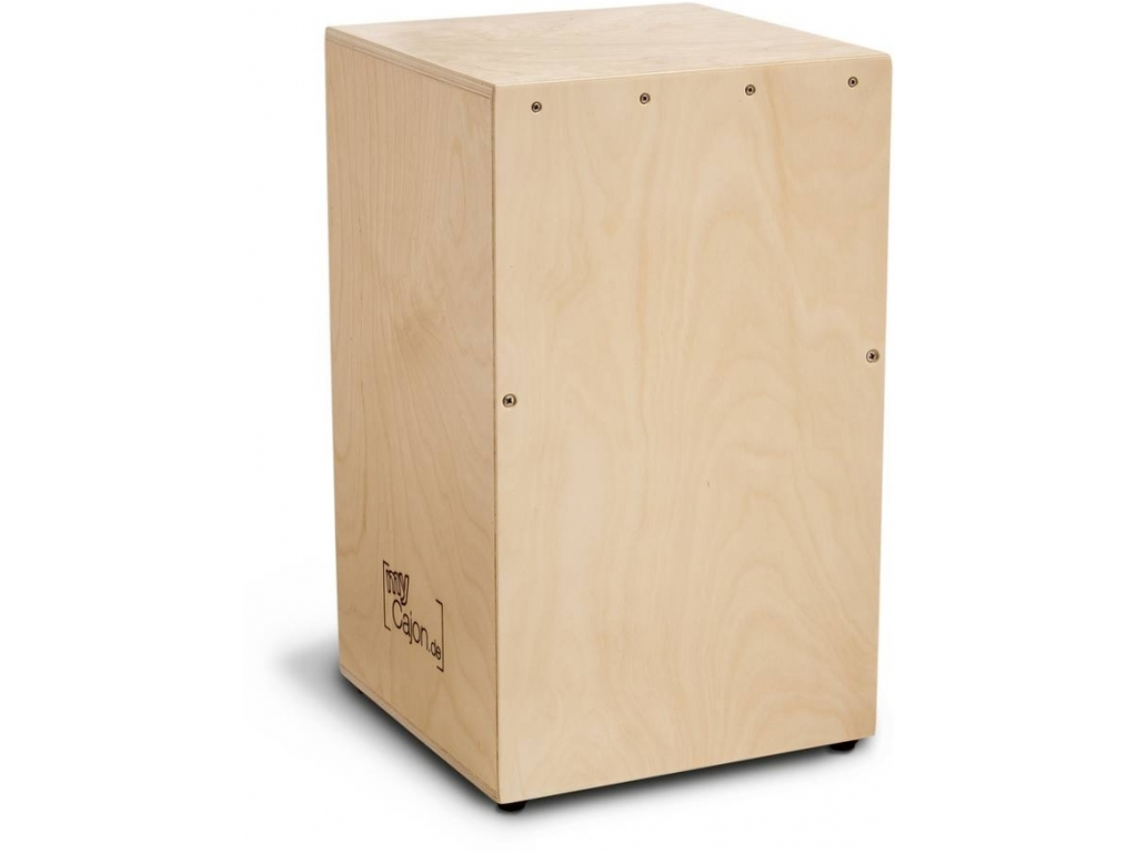 Cajon Schlagwerk Percussion CBA-2, Do it yourself Cajon, Berken Frontplate en Body, 50 x 30 x 30cm
