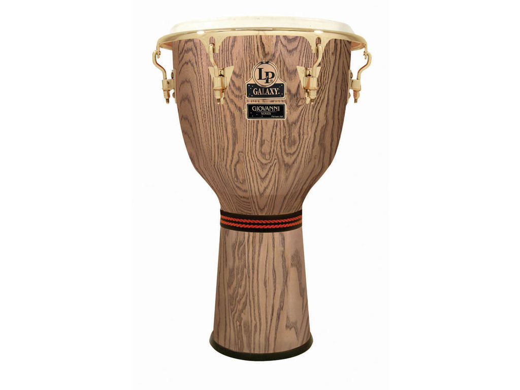"Djembe LP799X-AW, LP Galaxy Serie, Giovanni, 12 1/2"", Hoogte 25"", North American Ash, Comfort Curve Rims, Gouden Hardware"