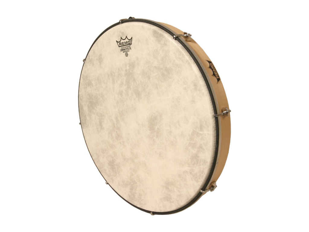 Frame Drum Remo HD-7216-00, Stembare Hand Drum, Wit, 16""