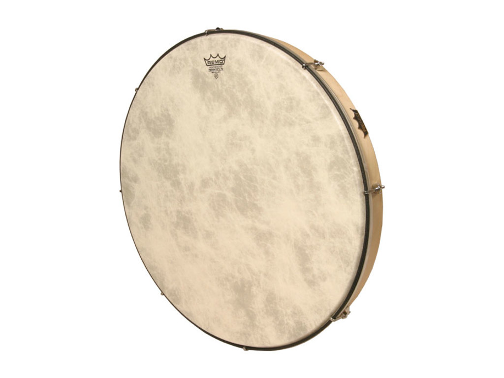 Frame Drum Remo HD-7222-00, Stembare Hand Drum, Wit, 22""