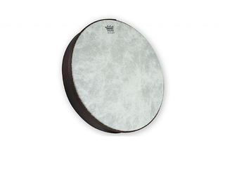 "Frame Drum Remo HD-8514-00, Fiberskyn Serie, 14"", gestemde hand drum, Fiberskyn vel, Low Pitch, wit"
