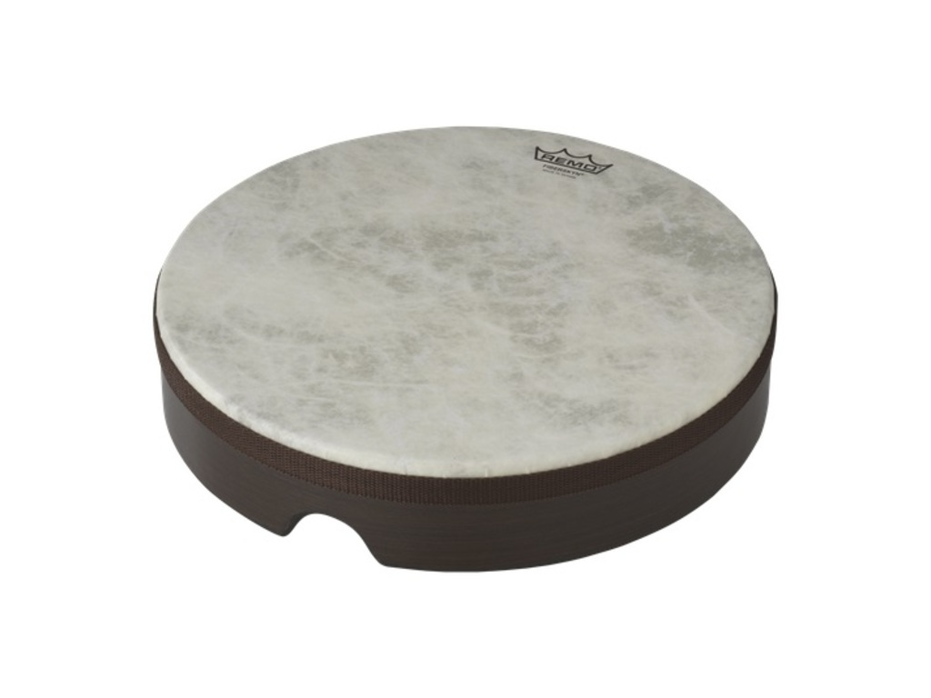 "Frame Drum Remo HD-8522-00, Fiberskyn Serie, 22"", gestemde hand drum, Fiberskyn vel, Low Pitch, wit"