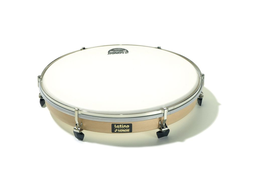 Frame Drum Sonor LHDP 13, Frame Drum (V1610) 13'', (33 cm), plastic Head, with 6 tightening screws