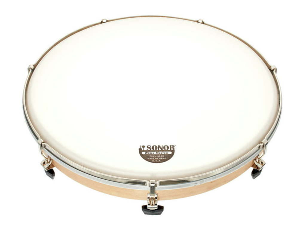 Frame Drum Sonor LHDP 14, Frame Drum (V1611) 14'', (36 cm), plastic Head, with 7 tightening screws
