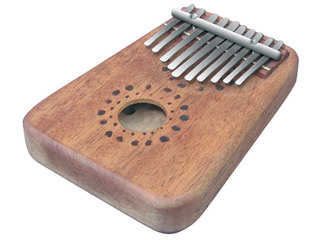 Kalimba Planet Music DP501, African Finger Piano, 10 bars, 13 x 18 x 3cm