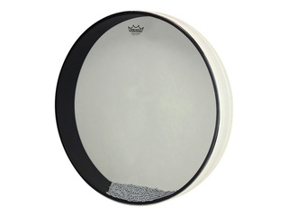 Ocean Drum Remo ET-0222-00, met klopper, medium toon, wit, 22""