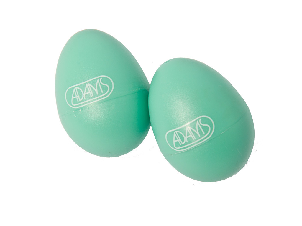 Shaker Adams 508, Egg shaker, per paar Light Groen