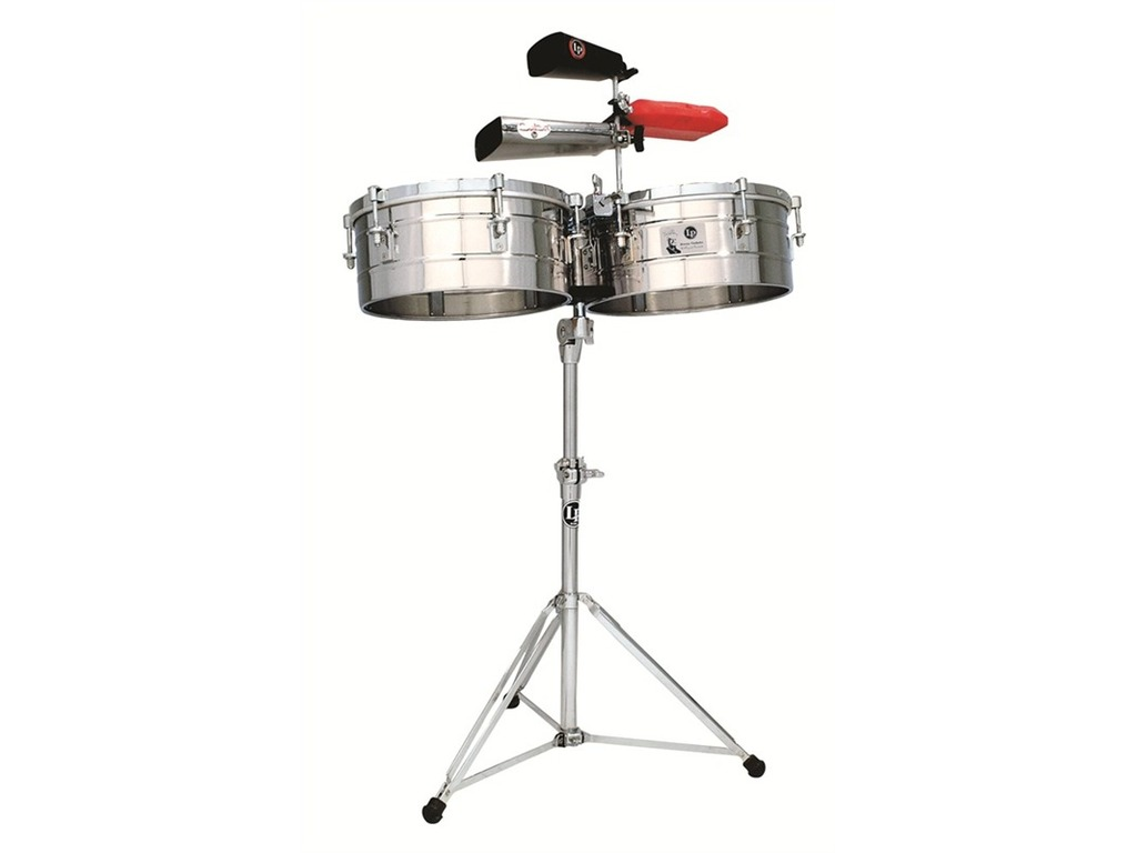 "Timbales LP256S, Tito Puente Timbales, 13""&14"", Steel Shells"