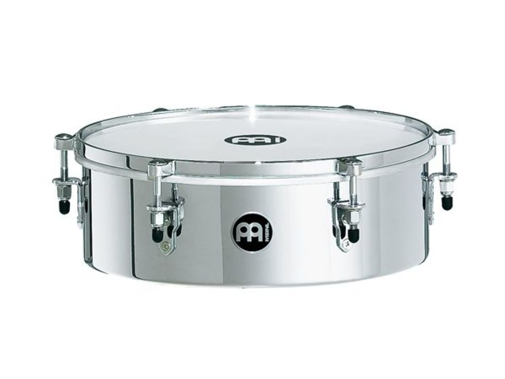 "Timbales Meinl MDT13CH, Drummer Timbale, 13"", Roestvrij Staal, Chroom"