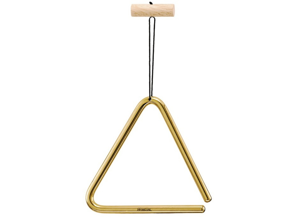 "Triangle Meinl TRI10B, Solid Brass, 10cm, 4"", with Triangle Beater"