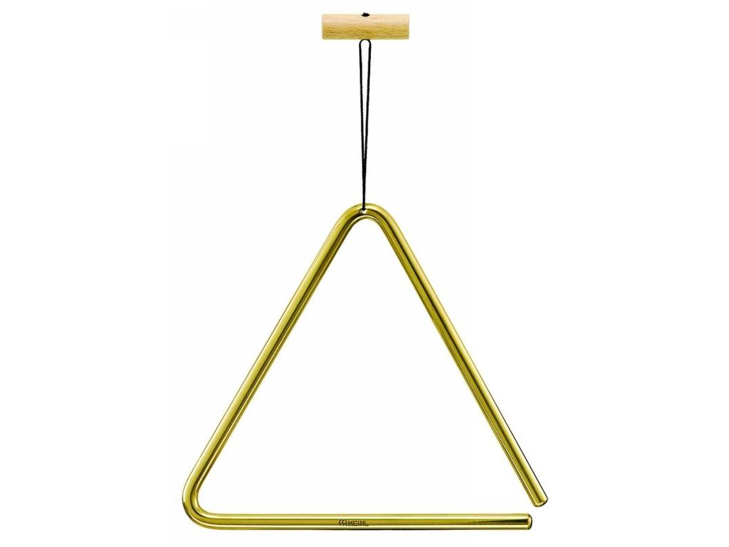 "Triangle Meinl TRI20B, Solid Brass, 20cm, 8"", with Triangle Beater"