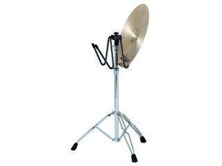 Cymbal put aside stand, with stand