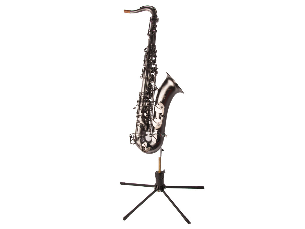 Adams Saxophone playing stand Tenor Silver, including Bag and hex key