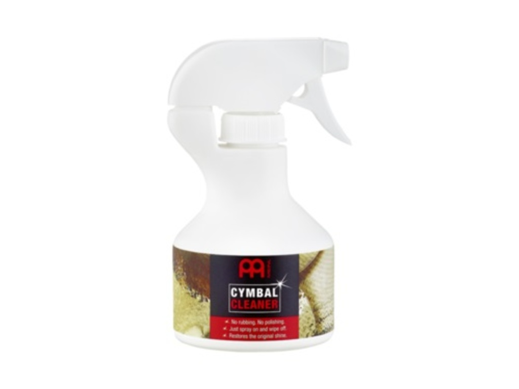 Cymbal Cleaner Meinl MCCL, just spray on and wipe off