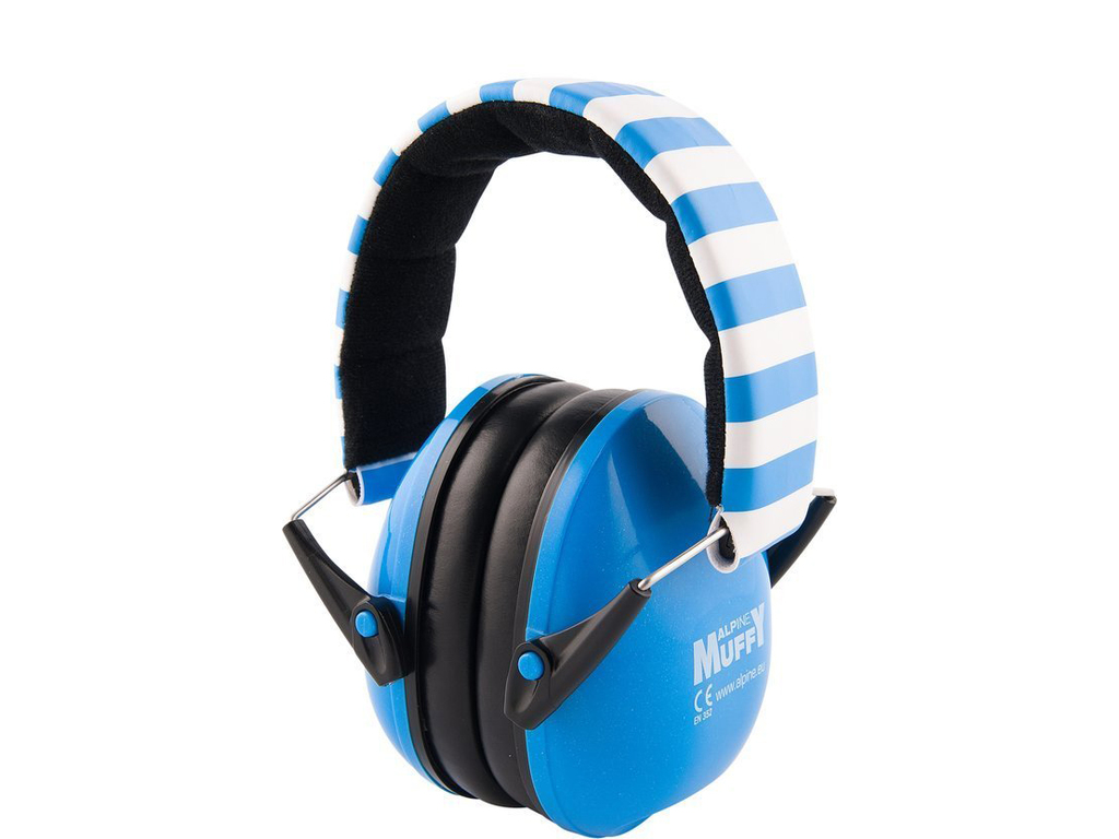 Hearing Protection Alpine, Muffy Blue, headphone for children to and with 5 years old