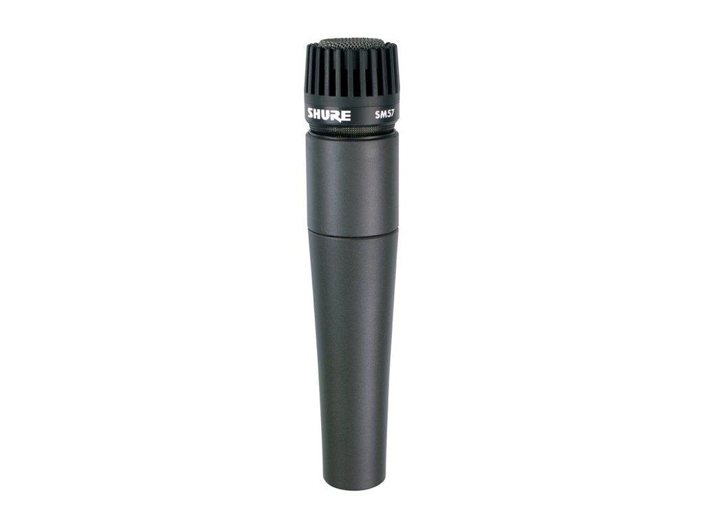 Microfoon Shure SM57, professionele dynamisch microfoon voor snare, toms of percussie